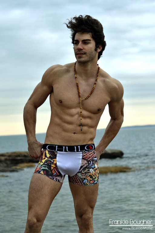 web ready CHOCHA BEACH CHULO by Ricardo Muniz introducing Frankie Bougher 10 for Kraven Magazine sum