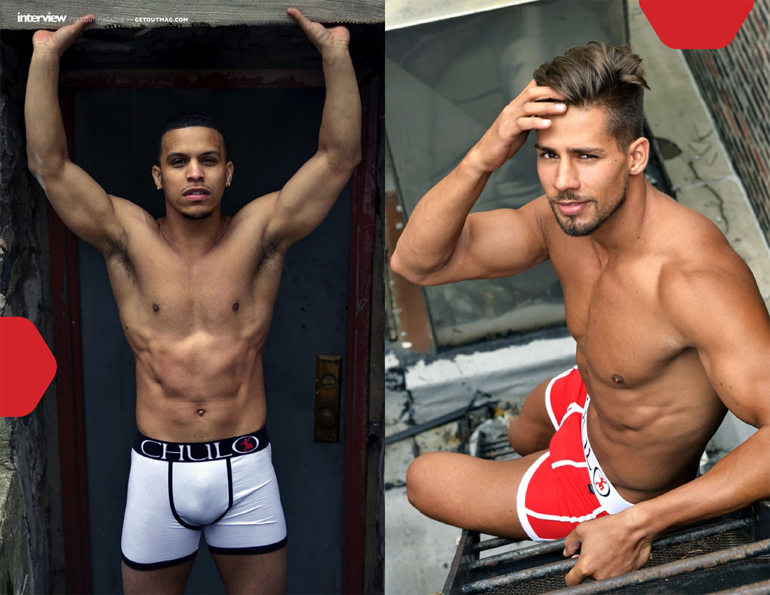 CHULO Underwear in Get Out! Mag page 3 Ricardo Muniz interview