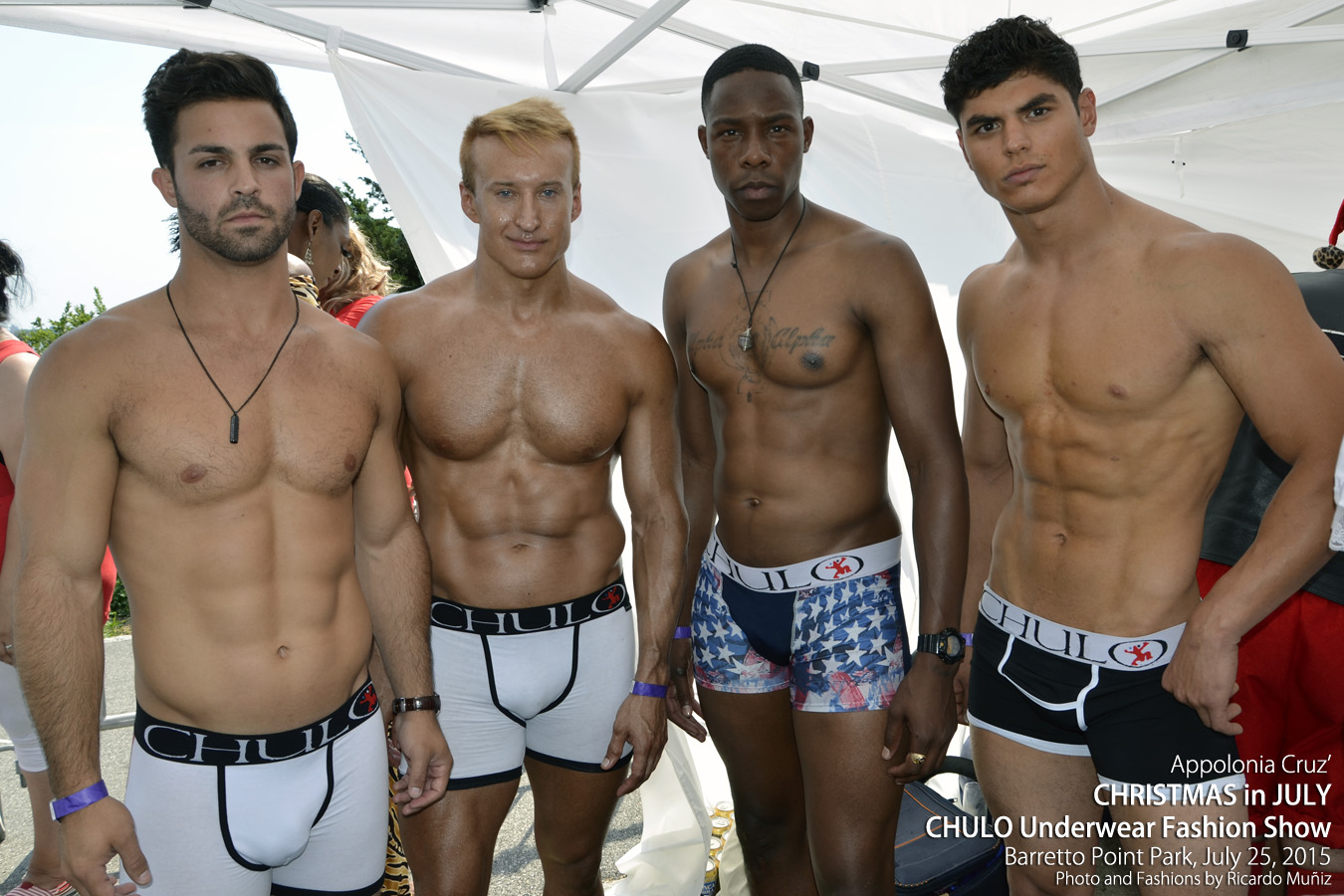 CHULO Underwear Fashion Show at ACruz Christmas in July by RMuniz 001