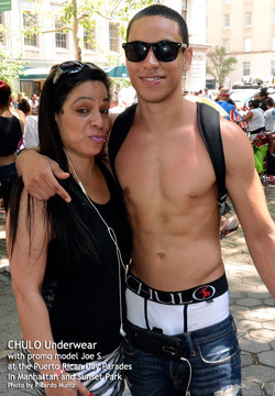 CHULO promotion at Puerto Rican parades in Manhattan & Sunset Park with Joseph by Ricardo Muniz 11