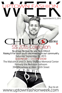 UPDATED CHULO Underwear UPTOWN FASHION WEEK promo with fade by RMuniz