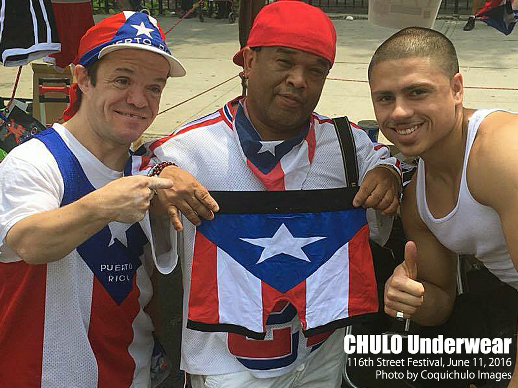 CHULO Underwear at 116th Street Festival 002