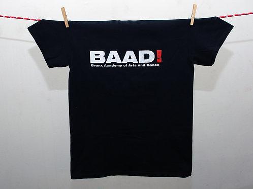 BAAD! Iconic Black Tee