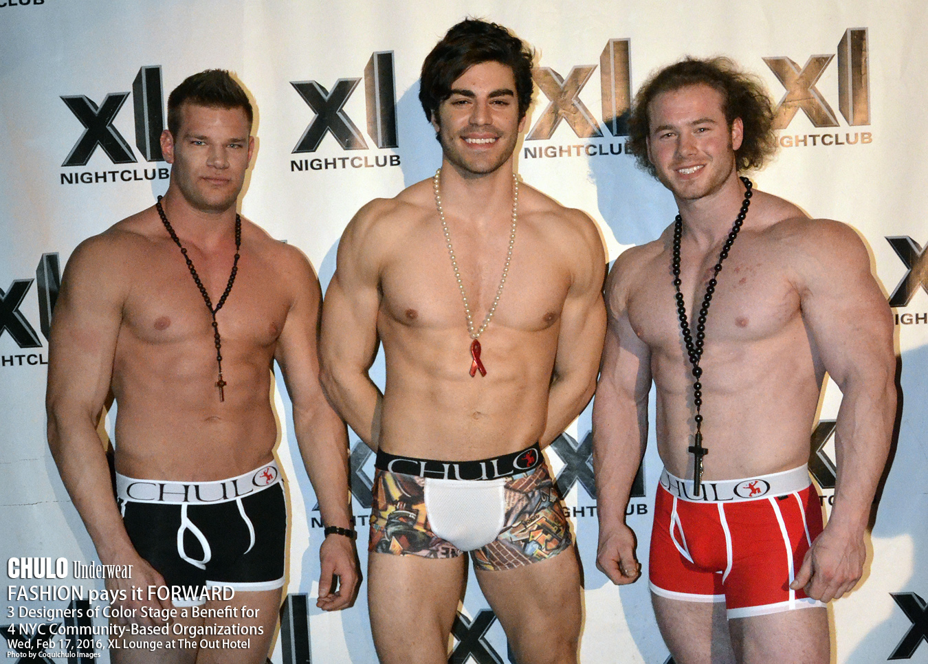 XL Lounge CHULO Underwear Charity Fashion Show 002