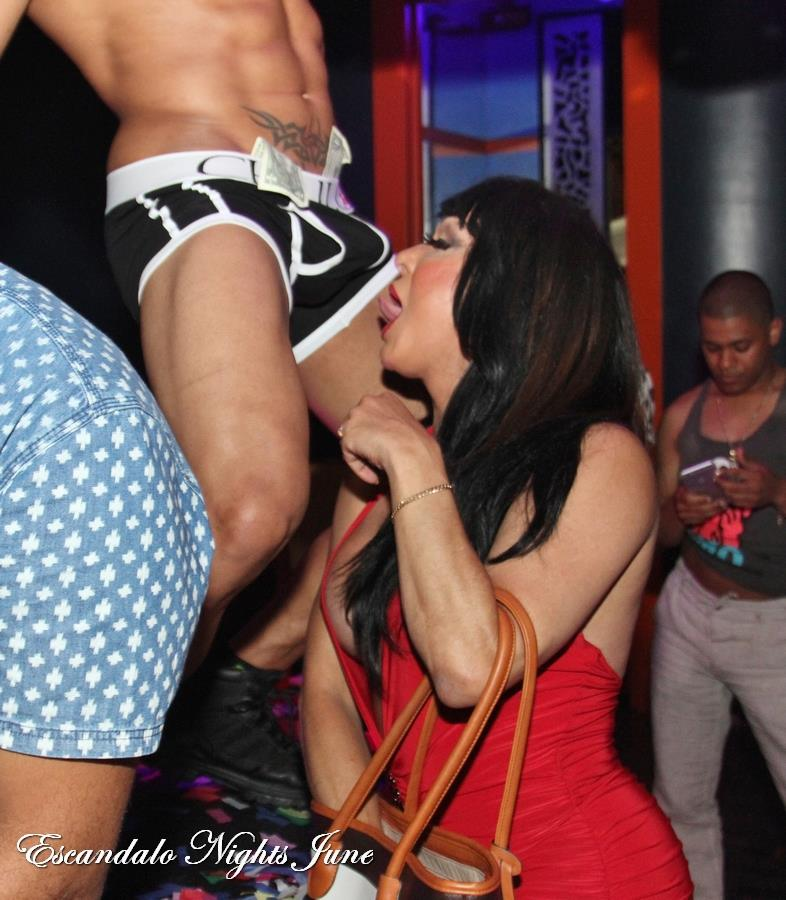 CHULO at Escandalo Tues June 23 photo by Ruben Roque with Scorpio and Lorena 01