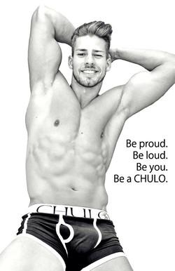 Lobo for CHULO in black white