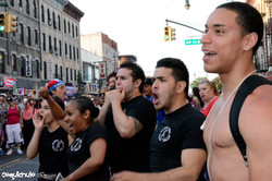 CHULO promotion at Puerto Rican parades in Manhattan & Sunset Park with Joseph by Ricardo Muniz 02