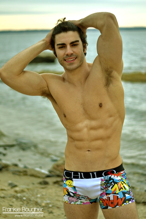 web ready CHOCHA BEACH CHULO by Ricardo Muniz introducing Frankie Bougher 12 for Kraven Magazine sum
