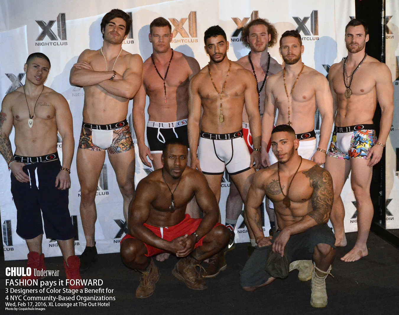 XL Lounge CHULO Underwear Charity Fashion Show 001