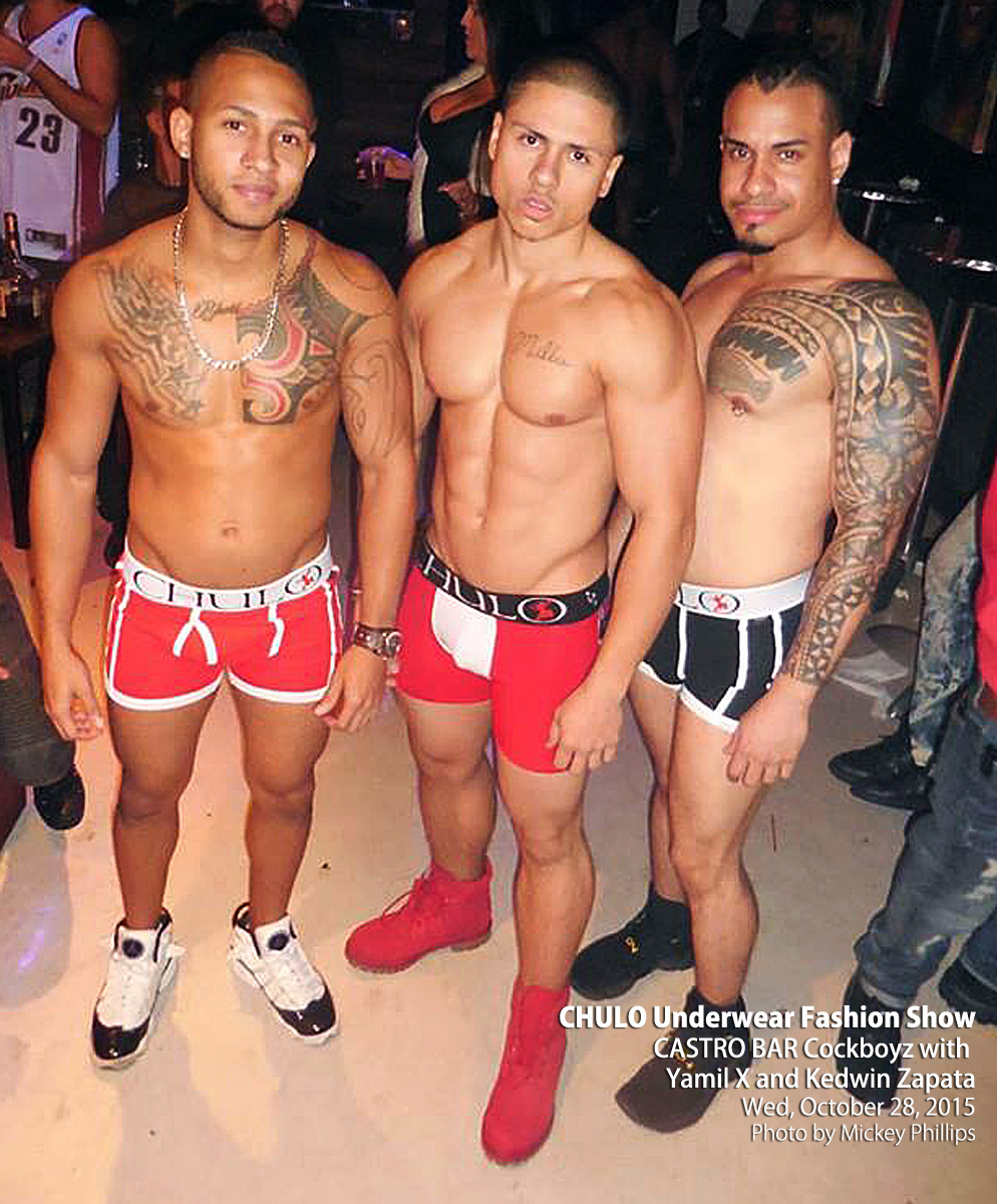 CHULO Underwear Fashion Show at Castro Cockboyz 10 25 2015 photo 001