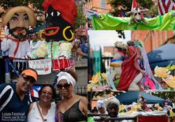 CHULO Underwear at Loiza Festival Collage by RMuniz