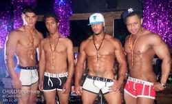 CHULO Underwear fashion show at Castro