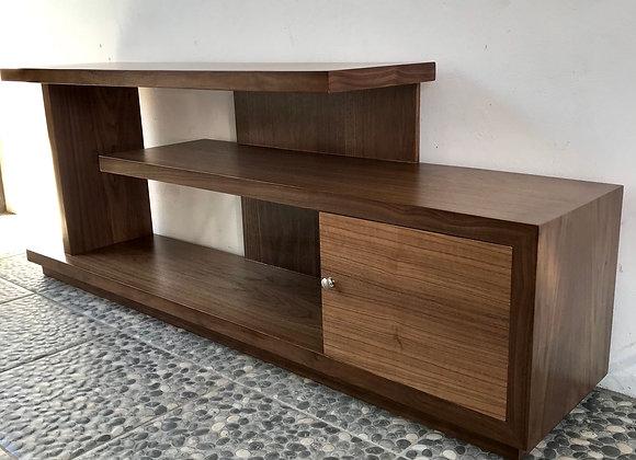 Mueble de Tv Merbau Nogal