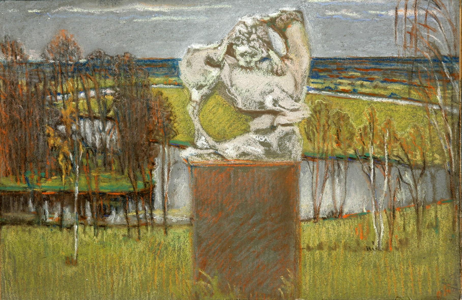 Лев в Райках. 1913