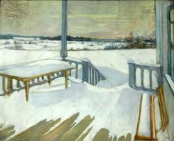 Зимняя терраса. Райки. 1910-е