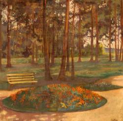 Клумба. 1916