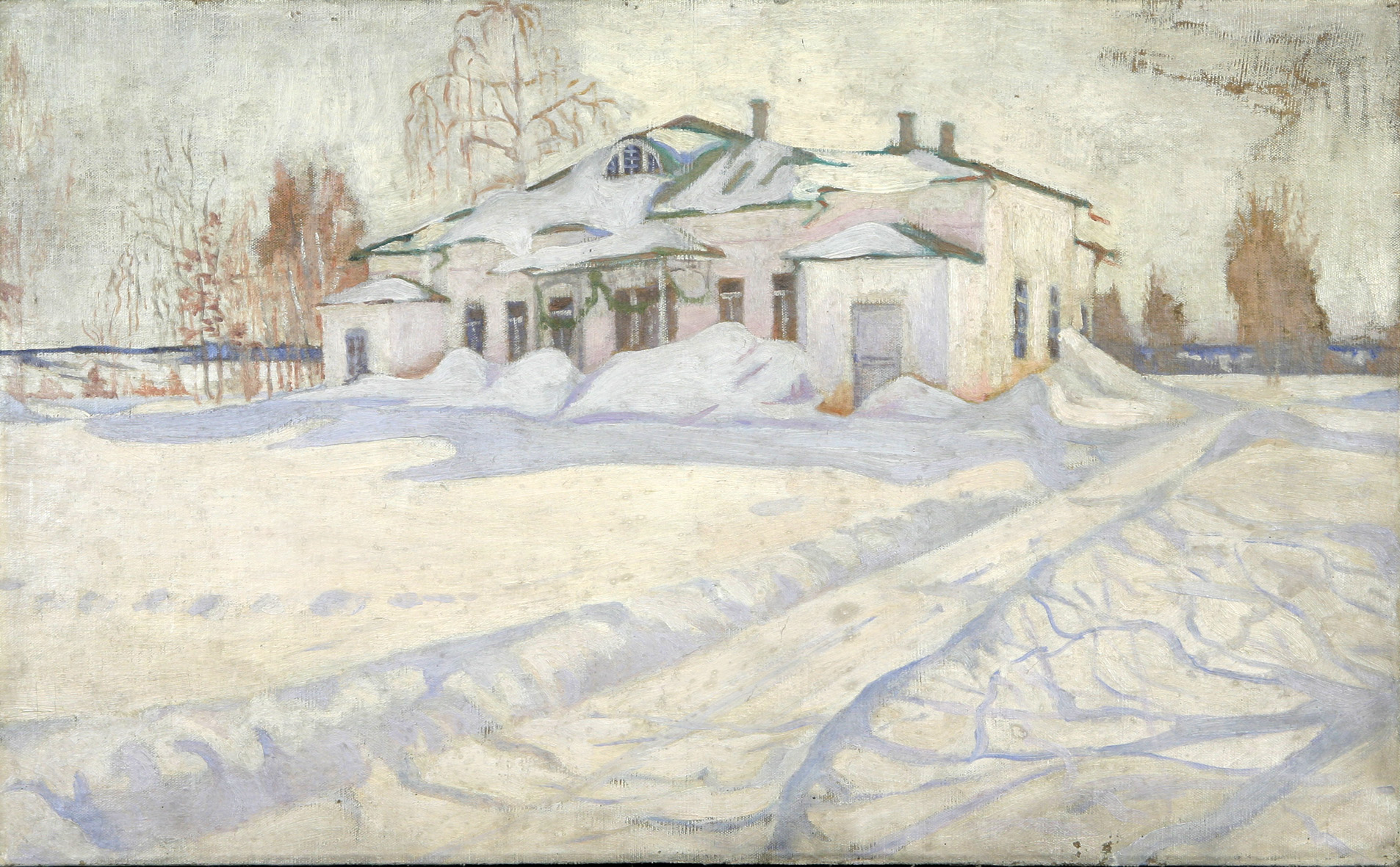 Белый дом. Райки. 1910-е