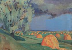 Стога. 1916