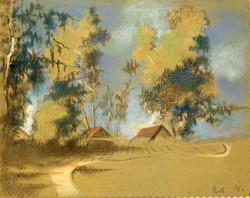 Перед грозой. 1948