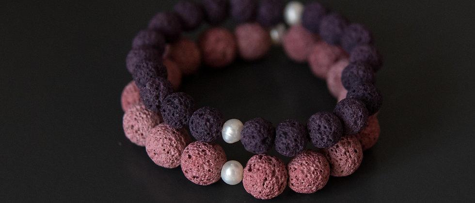 Pink and Purple Lava Set