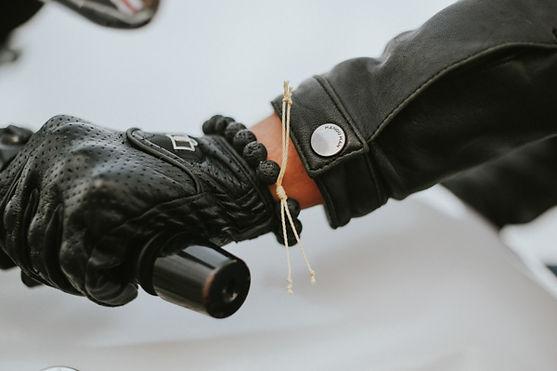 Durable Mens Kevlar Bracelet, Motorcycle