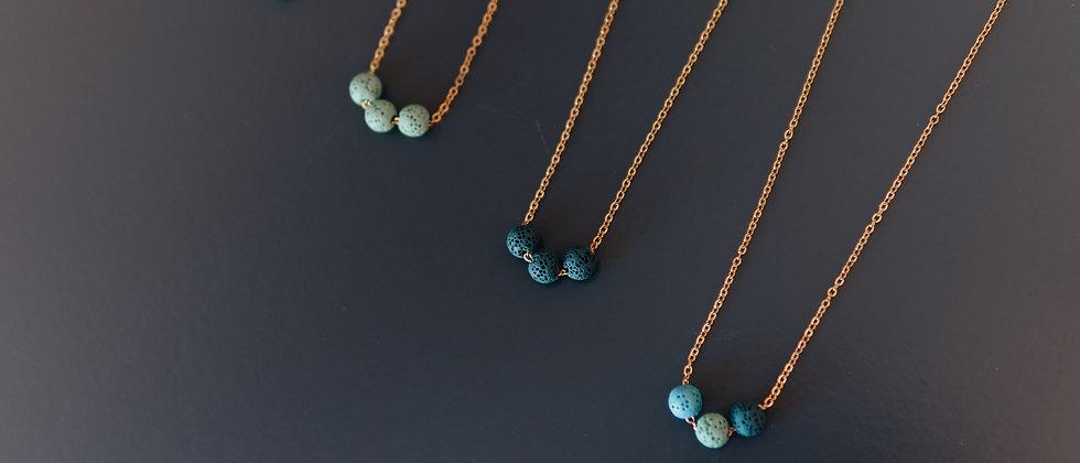 Colourful Diffuser Lava Necklaces