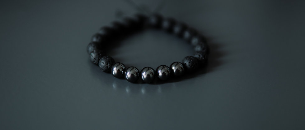Hematite Kevlar Bracelet
