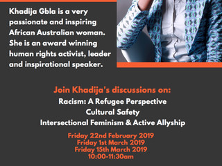 Intercultural Discussions with Khadija Gbla