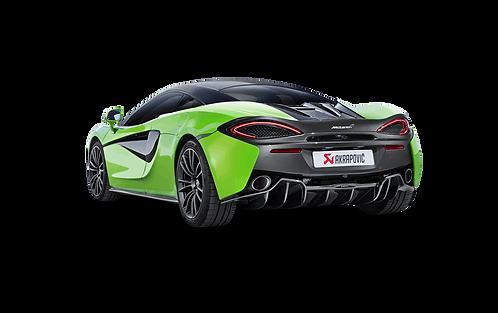 Akrapovic Slip On Abgassystem für McLaren 570 / S Spyder und 570 GT