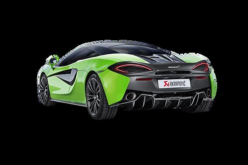 Akrapovic Slip On Abgassystem für McLaren 540 C