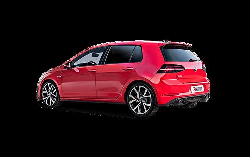 Akrapovic Slip On Abgassystem für den VW Golf VII GTI FL (ABE)
