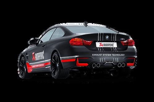 Akrapovic Slip On Abgassystem für BMW M4 (F82,F83) ABE