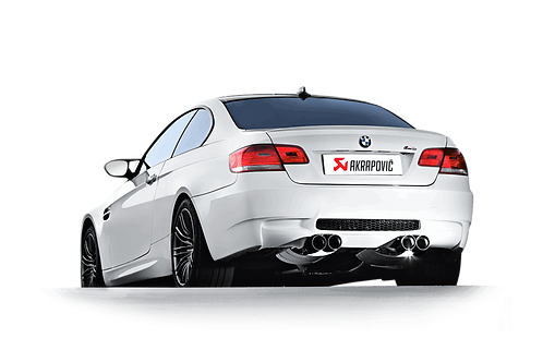 Akrapovic Slip On Abgassystem für BMW M3 (E92, E93) ABE
