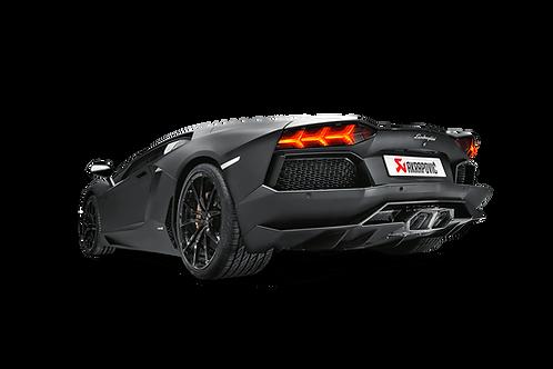 Akrapovic Slip On Abgassystem für Lamborghini Aventador LP700-4