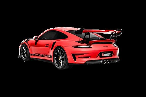 Akrapovic Slip-On Race Line Abgassystem für Porsche 991.2 GT3 RS