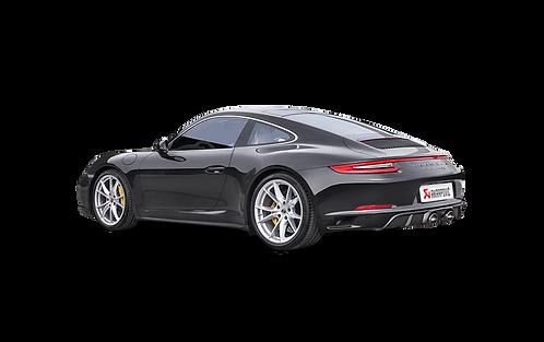Akrapovic Slip-On Line Abgassystem für Porsche 991.2 Carrera Coupe (ABE)