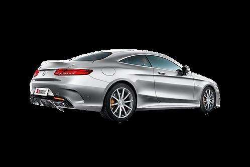 Akrapovic Abgassystem für Mercedes Benz AMG S63 Coupe / Cabrio (ABE)