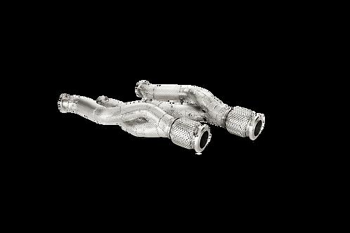 Akrapovic Link Pipe Set für Lamborghini Aventador