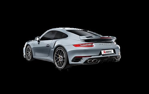 Akrapovic Slip On Abgasanlage für Porsche 991.2 Turbo / Turbo S (ABE)