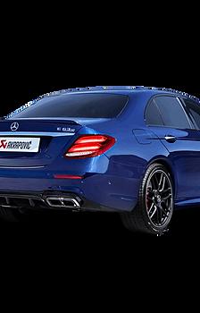 Akrapovic Evolution Line Abgassystem für Mercedes-AMG E63 / E63 S (W213) `18 ABE