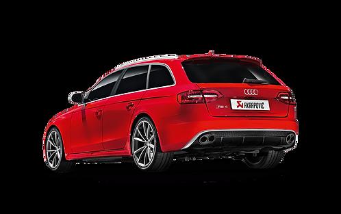 Akrapovic Evolution Abgassystem für Audi RS4 Avant (ABE)