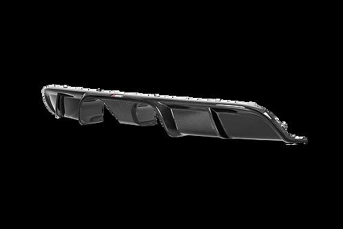 Akrapovic Carbon Heckdiffusor glänzend für Porsche Carrera S/4/4S/GTS (ABE)