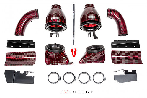 Eventuri Carbon Kevlar Ansaugsystem für Audi RS4 RS5 b8