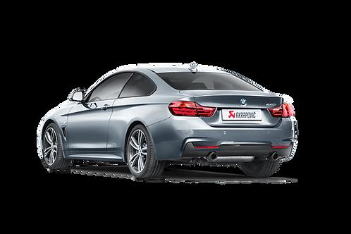 Akrapovic Evolution Line (SS) Abgassystem für BMW 440i (F32, F33, F36) ABE