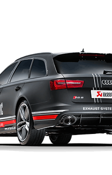 Akrapovic Evolution Abgassystem für Audi RS6 Avant (C7 / 4G) ABE