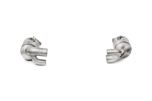 Akrapovic Link Pipe Set mit KAT für Porsche 991.2 Carrera S/4/4S/GTS/Targa