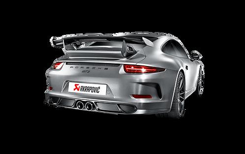 Akrapovic Slip On Abgassystem für Porsche 991 GT3 (ABE)