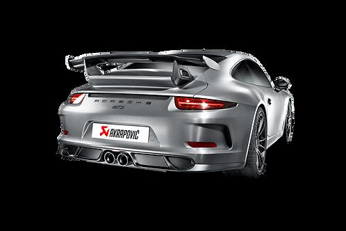 Akrapovic Slip On Abgassystem für Porsche 991 GT3 RS