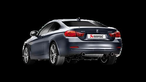 Akrapovic Evolution Line (SS) Abgassystem für BMW 435i (F32, F33, F36) ABE