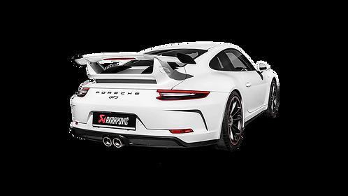 Akrapovic Slip-On Line Abgassystem für Porsche 991.2 GT3 (ABE)